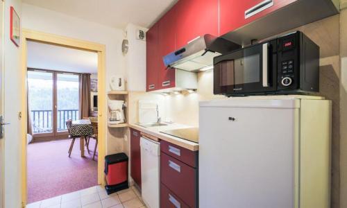 Location au ski Appartement 2 pièces 6 personnes (Confort 37m²) - Résidence Verseau - Maeva Home - Flaine - Kitchenette