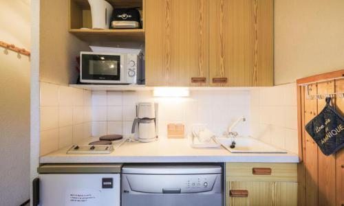 Location au ski Studio 4 personnes (Confort 26m²-2) - Résidence Verseau - Maeva Home - Flaine - Kitchenette