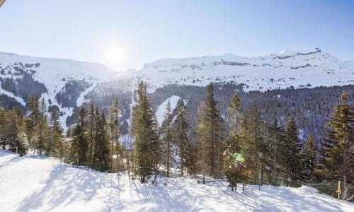 Location au ski Studio 4 personnes (Sélection 26m²-2) - Résidence Verseau - Maeva Home - Flaine - Extérieur hiver