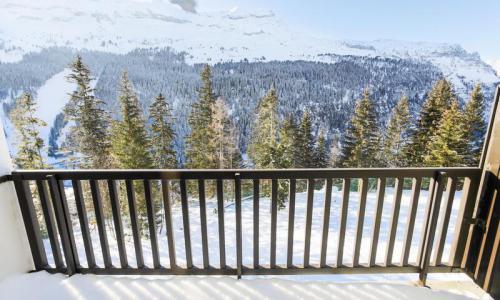 Location au ski Appartement 2 pièces 6 personnes (Confort 37m²) - Résidence Verseau - Maeva Home - Flaine - Extérieur hiver