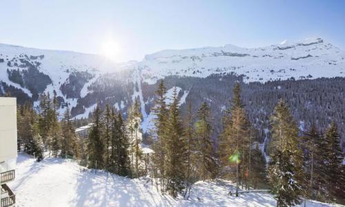 Location au ski Studio 4 personnes (Budget 26m²-3) - Résidence Verseau - Maeva Home - Flaine - Extérieur hiver