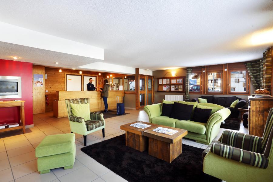 Location au ski Résidence les Chalets des Evettes - Flumet - Réception