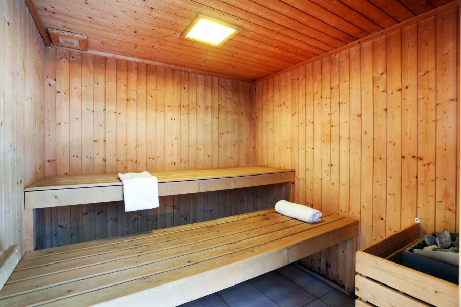 Location au ski Résidence les Chalets des Evettes - Flumet - Sauna