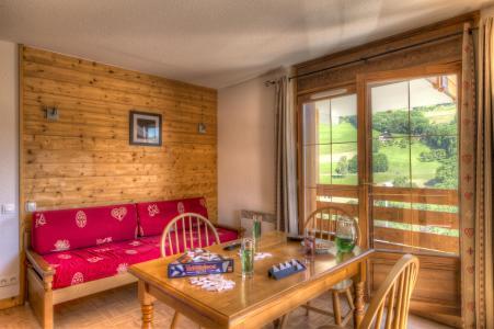 Аренда на лыжном курорте Résidence les Chalets des Evettes - Flumet - Сиденье банкетка