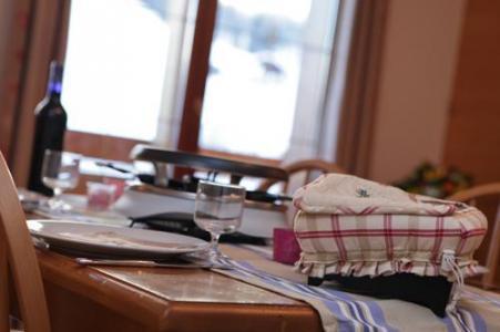 Location au ski Residence Les Chalets Des Evettes - Flumet - Séjour