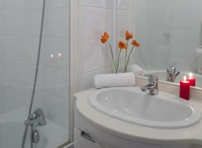 Location au ski Residence Les Chalets Des Evettes - Flumet - Salle de bains
