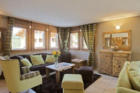Location au ski Residence Les Chalets Des Evettes - Flumet - Réception