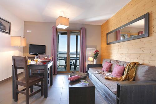 Location au ski Residence Le Pic De L'ours - Font Romeu - Séjour