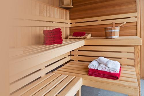Location au ski Residence Le Pic De L'ours - Font Romeu - Sauna