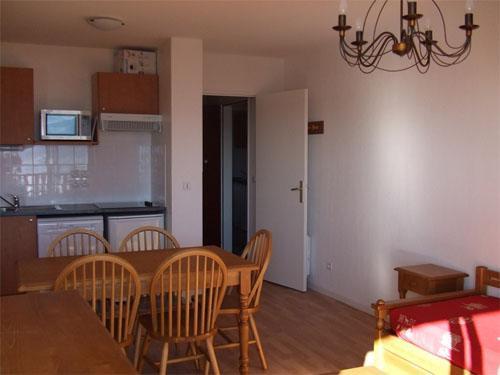 Location au ski Appartement 2 pièces 4 personnes - Residence Les Chalets Du Belvedere - Font Romeu - Séjour