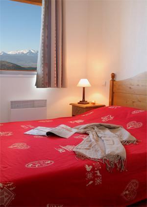 Location au ski Residence Les Chalets Du Belvedere - Font Romeu - Chambre