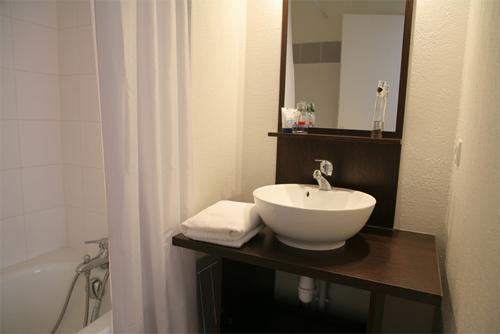Location au ski Residence Les Chalets Du Belvedere - Font Romeu - Salle de bains