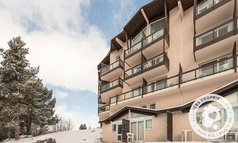 Аренда на лыжном курорте Résidence le Pédrou - Maeva Home - Font Romeu - зимой под открытым небом