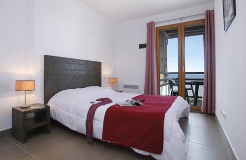 Location au ski Residence Le Pic De L'ours - Font Romeu - Chambre