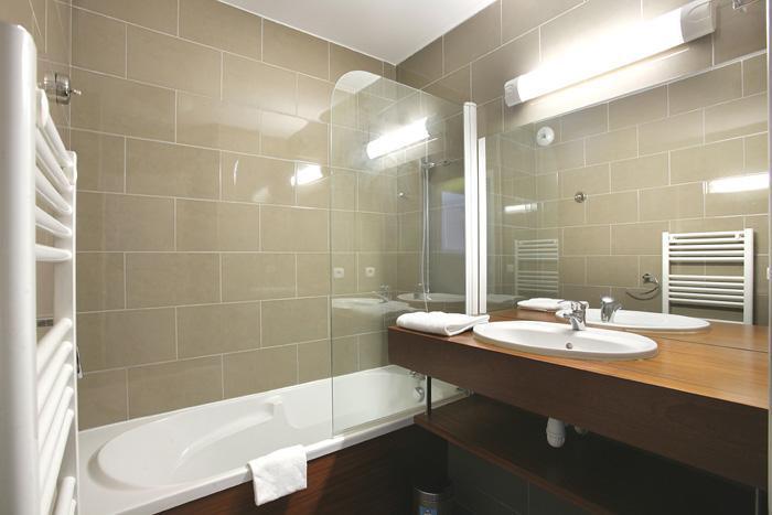 Location au ski Residence Le Pic De L'ours - Font Romeu - Salle de bains