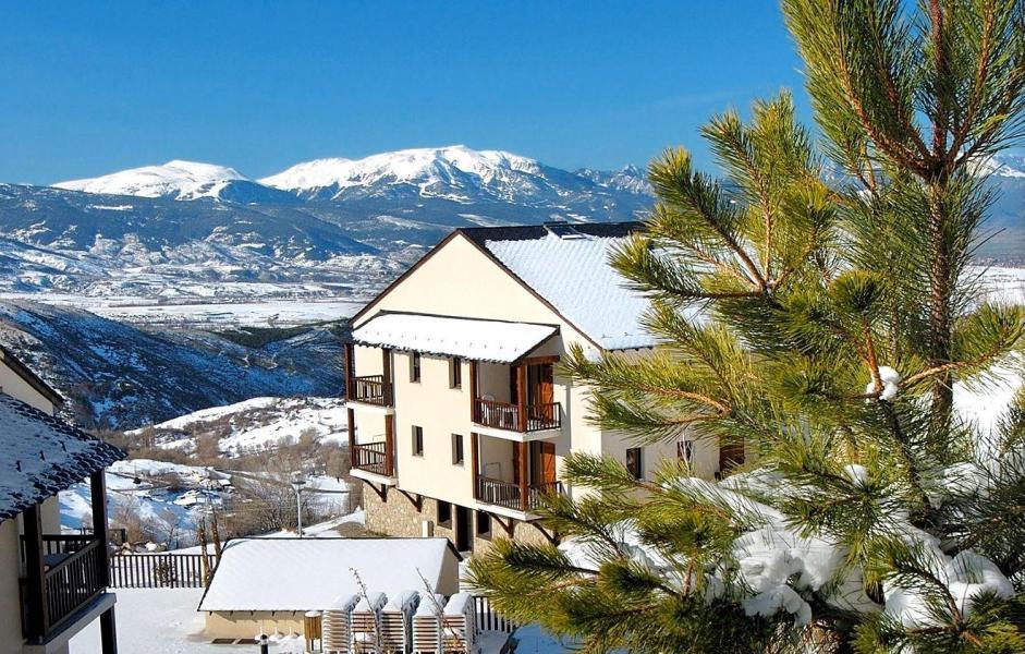 Location au ski Résidence Mille Soleils - Font Romeu - Extérieur hiver