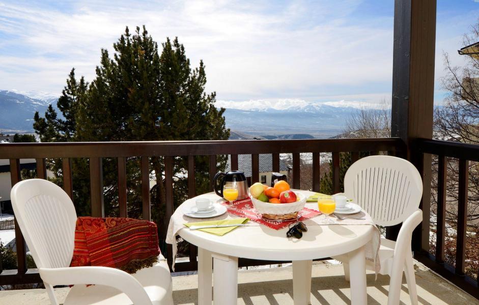 Аренда на лыжном курорте Résidence Mille Soleils - Font Romeu - Балкон