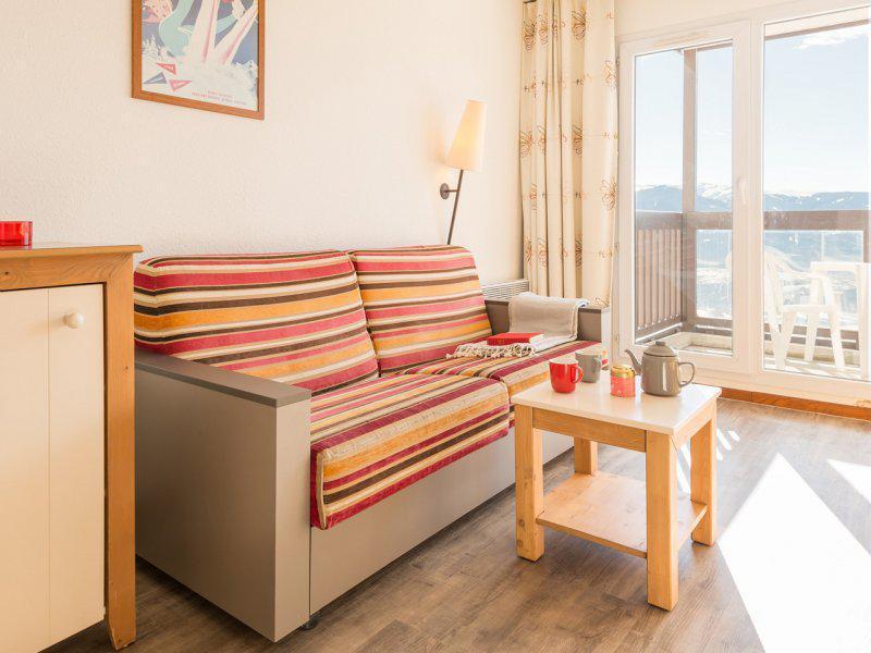 Аренда на лыжном курорте Квартира студия кабина для 4 чел. - Résidence Pierre et Vacances le Pédrou - Font Romeu