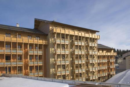Vacances en montagne Résidence Lagrange le Pic de l'Ours - Font Romeu - Extérieur hiver