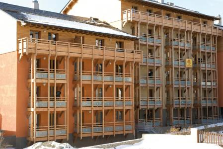 Location au ski Résidence Lagrange le Pic de l'Ours - Font Romeu - Extérieur hiver