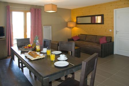 Location au ski Résidence Lagrange le Pic de l'Ours - Font Romeu - Salle à manger