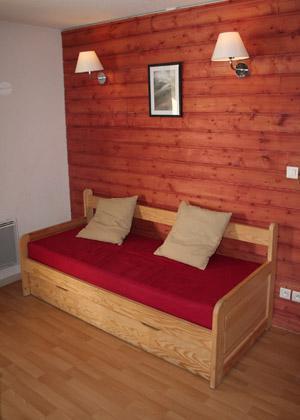 Location au ski Residence Le Domaine De Castella - Font Romeu - Banquette-lit