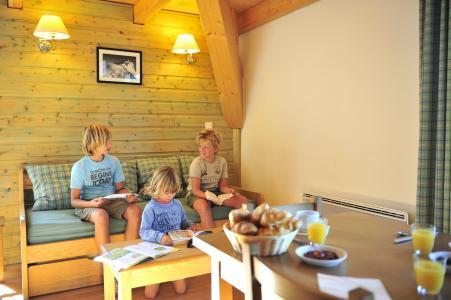 Аренда на лыжном курорте Résidence le Domaine de Castella - Font Romeu - Диван кровать
