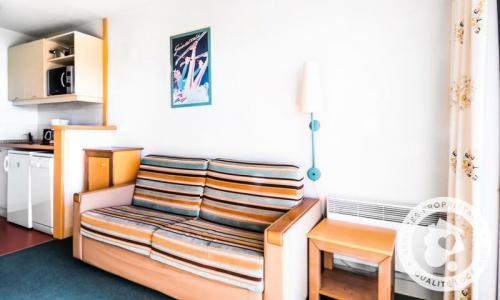 Аренда на лыжном курорте Квартира студия для 4 чел. (Budget 25m²-4) - Résidence le Pédrou - Maeva Home - Font Romeu - зимой под открытым небом