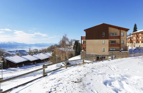 Location au ski Résidence les Chalets du Belvédère - Font Romeu - Extérieur hiver
