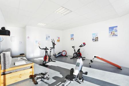 Location au ski Résidence les Chalets du Belvédère - Font Romeu - Espace fitness