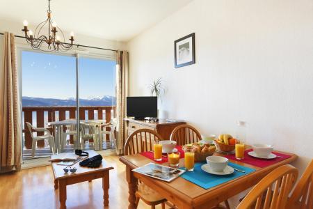 Location au ski Résidence les Chalets du Belvédère - Font Romeu - Salle à manger