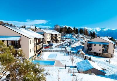 Location au ski Residence Mille Soleils - Font Romeu - Extérieur hiver