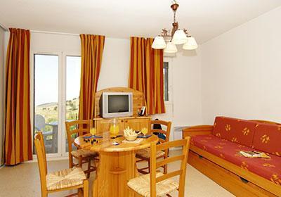 Location au ski Residence Mille Soleils - Font Romeu - Salle à manger
