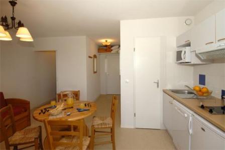 Location au ski Studio cabine 4 personnes (standard) - Residence Mille Soleils - Font Romeu - Séjour