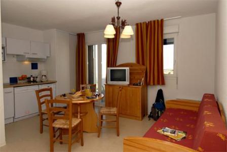 Location au ski Studio supérieur cabine 4 personnes (supérieur) - Residence Mille Soleils - Font Romeu - Séjour