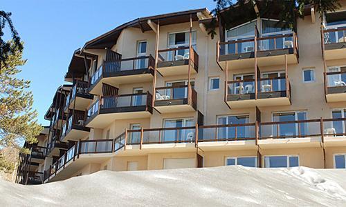 Location au ski Residence Pierre Et Vacances Le Pedrou - Font Romeu - Extérieur hiver