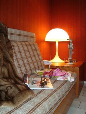 Location au ski Residence The Catalogne - Font Romeu - Banquette-lit