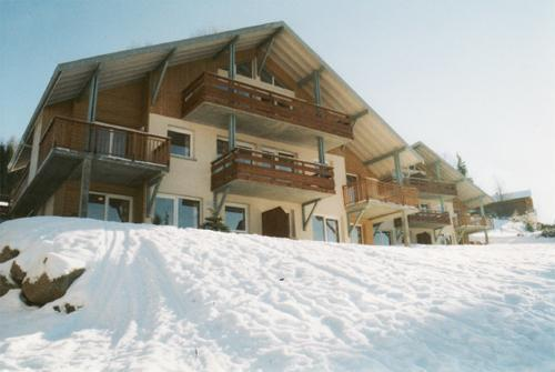 Rent in ski resort Chalets Domaine les Adrets - Gérardmer - Winter outside