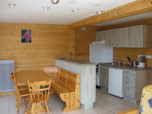 Wynajem na narty Apartament 3 pokojowy 6 osób - Chalets Domaine les Adrets - Gérardmer - Kuchnia