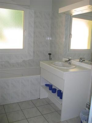 Location au ski Appartement 2 pièces 6 personnes - Chalets Domaine les Adrets - Gérardmer - Salle de bains