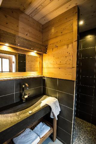 Location au ski Chalet duplex 4 pièces 8 personnes (Eco) - Chalets Domaine les Adrets - Gérardmer - Salle d'eau