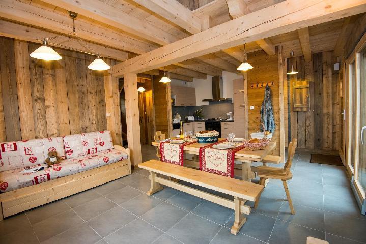 Alquiler al esquí Chalet duplex 4 piezas para 8 personas (Eco) - Chalets Domaine les Adrets - Gérardmer - Zapatos armario