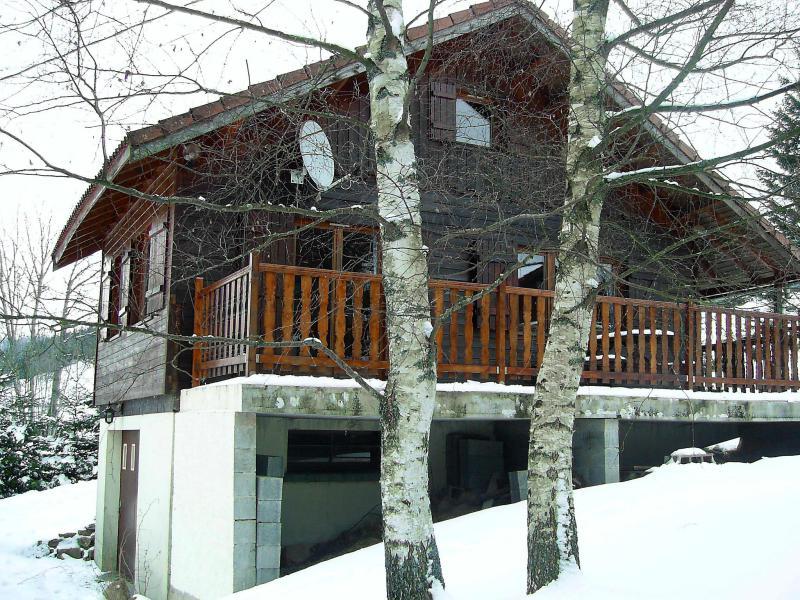 Wynajem na narty Domek górski 2 pokojowy 6 osób (1) - Gerbépal - Gérardmer - Zima na zewnątrz