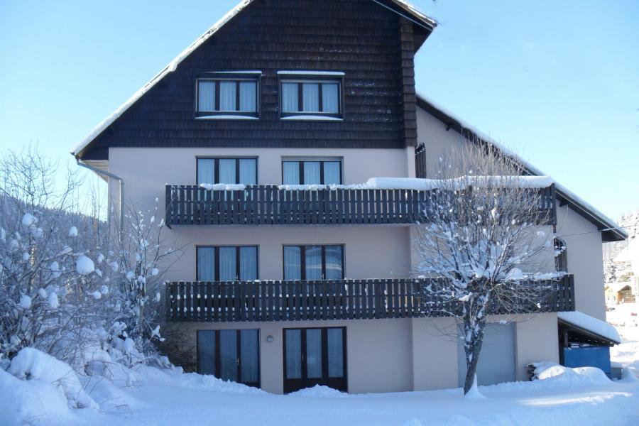 Location au ski Résidence les Myrtilles - Gérardmer - Extérieur hiver