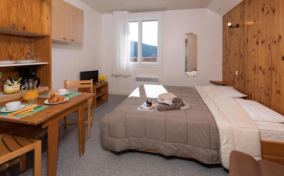 Аренда на лыжном курорте Résidence les Myrtilles - Gérardmer - Двухспальная кровать