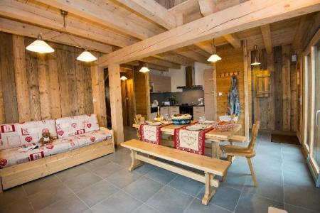 Location au ski Chalet duplex 4 pièces 8 personnes (Eco) - Chalets Domaine Les Adrets - Gerardmer - Placard à chaussures