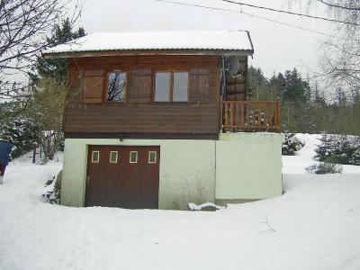 Rent in ski resort 2 room chalet 6 people (1) - Gerbépal - Gérardmer - Winter outside