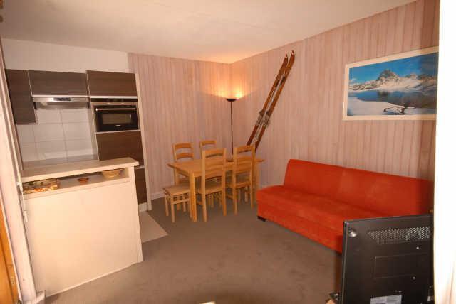 Location au ski Studio 6 personnes (ISA93) - Residence Isards - Gourette - Séjour