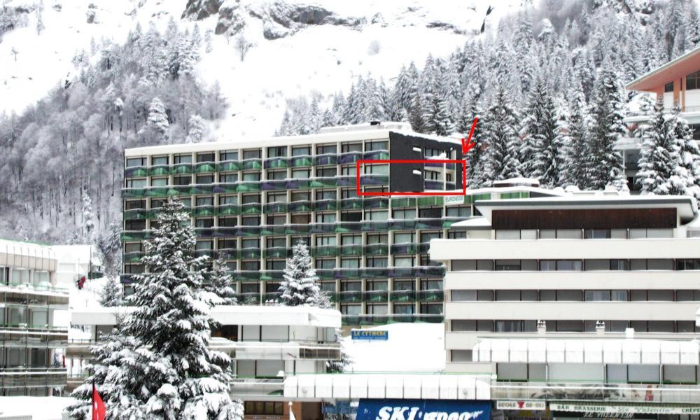 Location au ski Logement 3 pièces 8 personnes (EUR711) - Residence Euroneige - Gourette