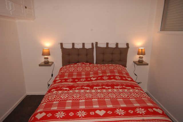 Rent in ski resort 3 room apartment cabin 8 people (ISA53) - Résidence Isards - Gourette - Bedroom